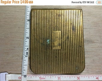 10% OFF 3 day sale Vintage Gold Toned Metal Money Wallet Used