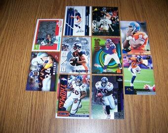 50 Denver Broncos Football Cards