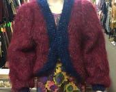 Knitted Mohair Shrug...