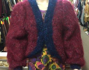 Knitted Mohair Shrug