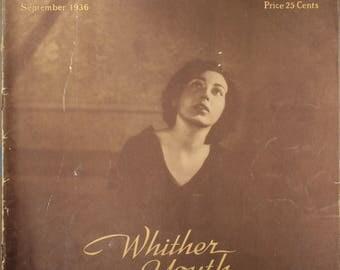 """1936 Music Magazine, """"The Etude Music Magazine"""" September 1936"""
