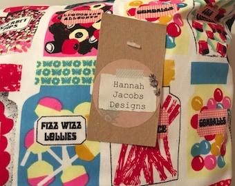Sweet Shop printed cushion