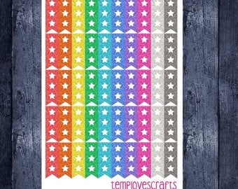 Weekend Sale Glitter mini task flags for erin condren life planner