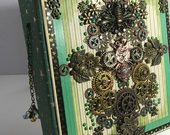 Bee Ecology Steampunk journal