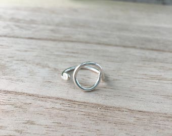 Circle Ring with Open Band