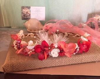 X o bouquets grapevine hand made head piece head band tiara