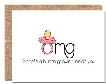 BABY/EXPECTING - omg There's a human growing inside you