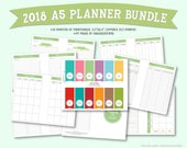 2018 Monthly Planner and ...