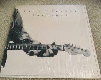 Eric Clapton Slow Hand Vinyl Record LP Blues Rock in shrink