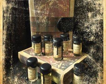 Outlander Inspired Book Box Perfume Oil Sampler