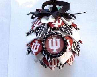 Indiana University  Christmas Ornament