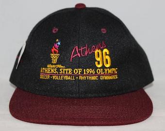 Vintage Deadstock Atlanta 1996 Olympics Champion Snapback Hat