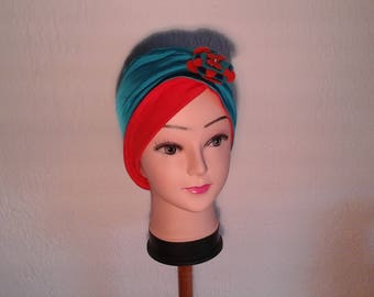 Stretchy reversible chemo, woman, girl Hat