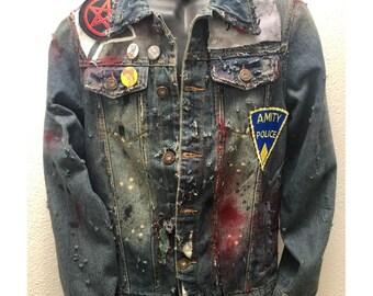 Denim jackets from ChadCherryClothing