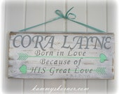 Personalized Name Sign Cora Layne