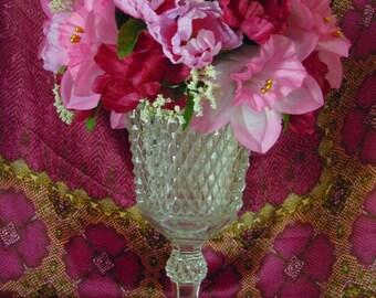 Burgundy and Pink Floral Arrangement