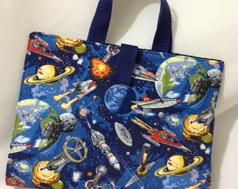 Spacecraft etsy for Space mission fabric