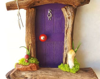 Kokopelli Sedona Fairy Door Made to Order
