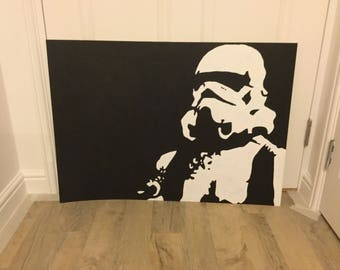 Storm Trooper / Star Wars painting