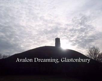 Glastonbury Tor Winter Light