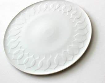 "ROSENTHAL ""LOTUS WEISS"" plate / cake plate Ø 30"