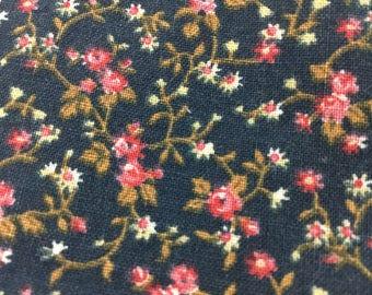 Lot of 55 Vintage Navy Blue Cotton 3 inch Quilt Squares