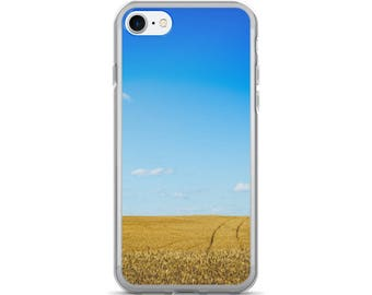 iPhone 7/7 Plus Case - Red Silo Original Art - Wheat Tracks