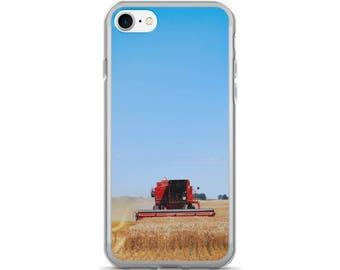 iPhone 7/7 Plus Case - Red Silo Original Art - Harvest King