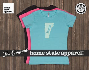 Vermont Home. T-shirt- Women's Relaxed Fit