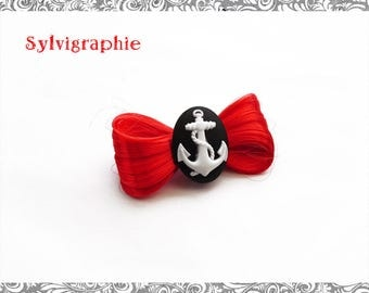 Kawaii red synthetic hair clip