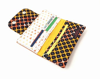 womens wallet with coin purse, womens wallet slim womens wallet, womes credit card holder women, minimalist wallet, ankara african wallet