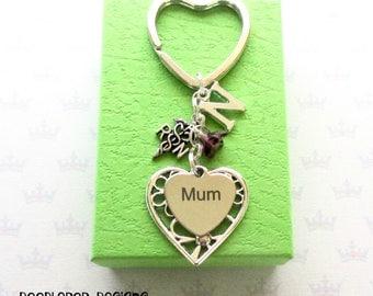 Personalised mum keyring - Gift for nurse - Mother's Day gift - RN keyring - Nurse keyring - Nurse keychain - Stocking Filler - Etsy UK