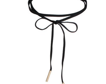 Black Velvet Lace Choker Necklace