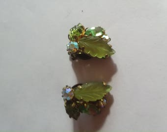 Pretty and petite earings signed west germany