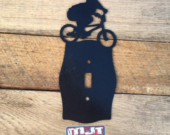 Bmx Light Switch Cover | BMX Boy Light Switch Cover - CS