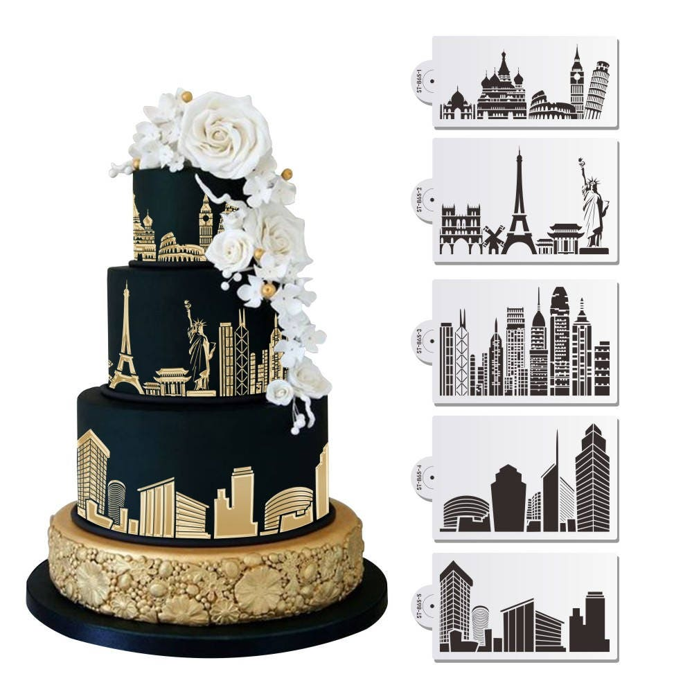 5 PC Monuments and City Skylines (Eiffel Tower, Statue of ...