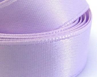 22 clear 250mm in width purple satin ribbons