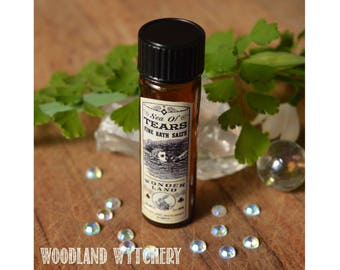 Perfume Oil | Gift | Alice in Wonderland | Sea of Tears | Cosplay | Wedding Favor | Mythology | Lewis Carroll | Gift for Her | Handmade