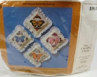 The Creative Circle 1914 Wistful Butterflies Sachets Kit