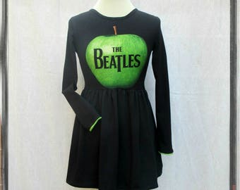 Beatles Apple baby doll dress