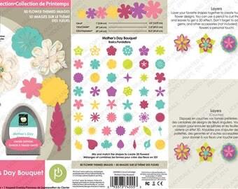 New Mother's Day Bouquet Seasonal Cricut Cartridge 2000902
