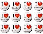 Sherlock Character Heart ...