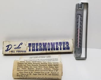 Free Shipping!! Tabor Farmers Co-op Assn. Advertising Thermometer Sherack Minnesota
