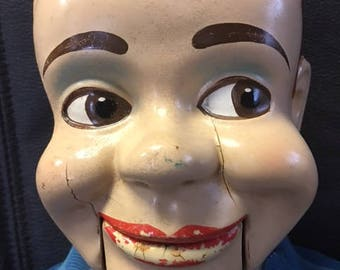 Vintage 1950's Charlie McCarthy Ventriloquist Doll