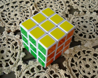 Vintage Rubik's Cube Logic Game / Vintage Magic Cube / Collectible/ Travel Game/Vintage Toy/Gift for Everyone/1990s/Unused