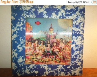 Save 30% Today Vintage 1967 Vinyl LP Record Their Satanic Majesties Request Lenticular Cover The Rolling Stones Excellent Condition 12272