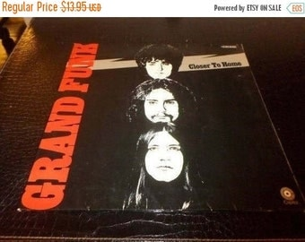 Save 30% Today Vintage 1971 Vinyl LP Record Grand Funk Closer To Home Rare German Import Very Good Condition 3332