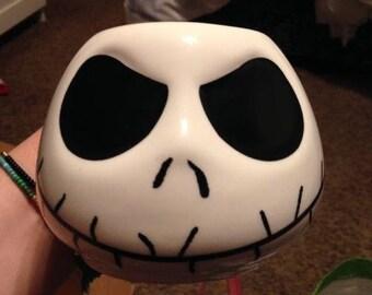 jack skellington mug, nightmare before christmas