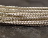 20ga Twisted Sterling Silver Wire - 20 Gauge - Dead Soft - Choose Your Length