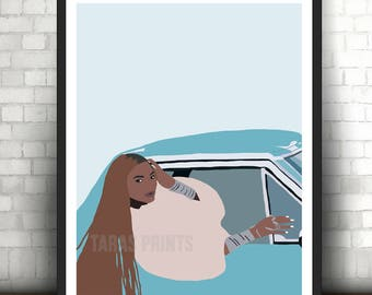 Beyonce Formation Pop Culture Wall Art Print